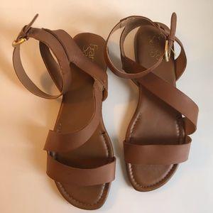 Franco Sarto strappy sandals, tan